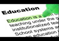 Education is the Backbone of a Nation: Paragraph, Essay