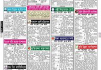 Weekly Job Newspaper 25th August 2017 Chakrir Dak