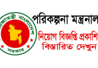 Planning Division Ministry Of Planning Job Circular 2018