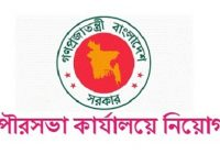 Municipality Office Job Circular 2019 Govt Jobs