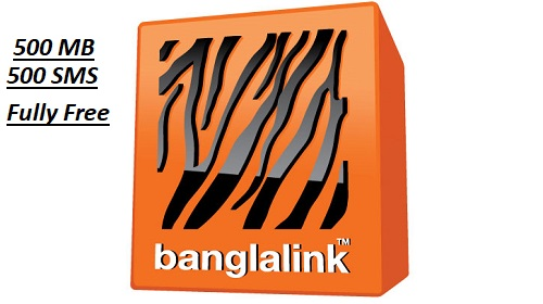 Banglalink Gives 500MB FREE Internet