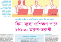 Free Training will be Given to 16100 Young People www.gameapp.gov.bd