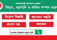 Ministry of Power Energy and Mineral Resources MPEMR Job Circular 2019