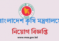 Ministry Of Agriculture MOA Job Circular 2019 www.moa.gov.bd