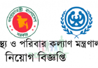 Ministry Of Health And Family Welfare Job Circular 2019 www.mohfw.gov.bd