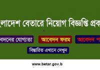 Bangladesh Betar Job Circular 2019 www.betar.gov.bd